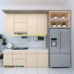 Kitchen set Pondok Melati Bekasi
