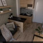 Interior Apartemen The Springlake Summarecon Bekasi