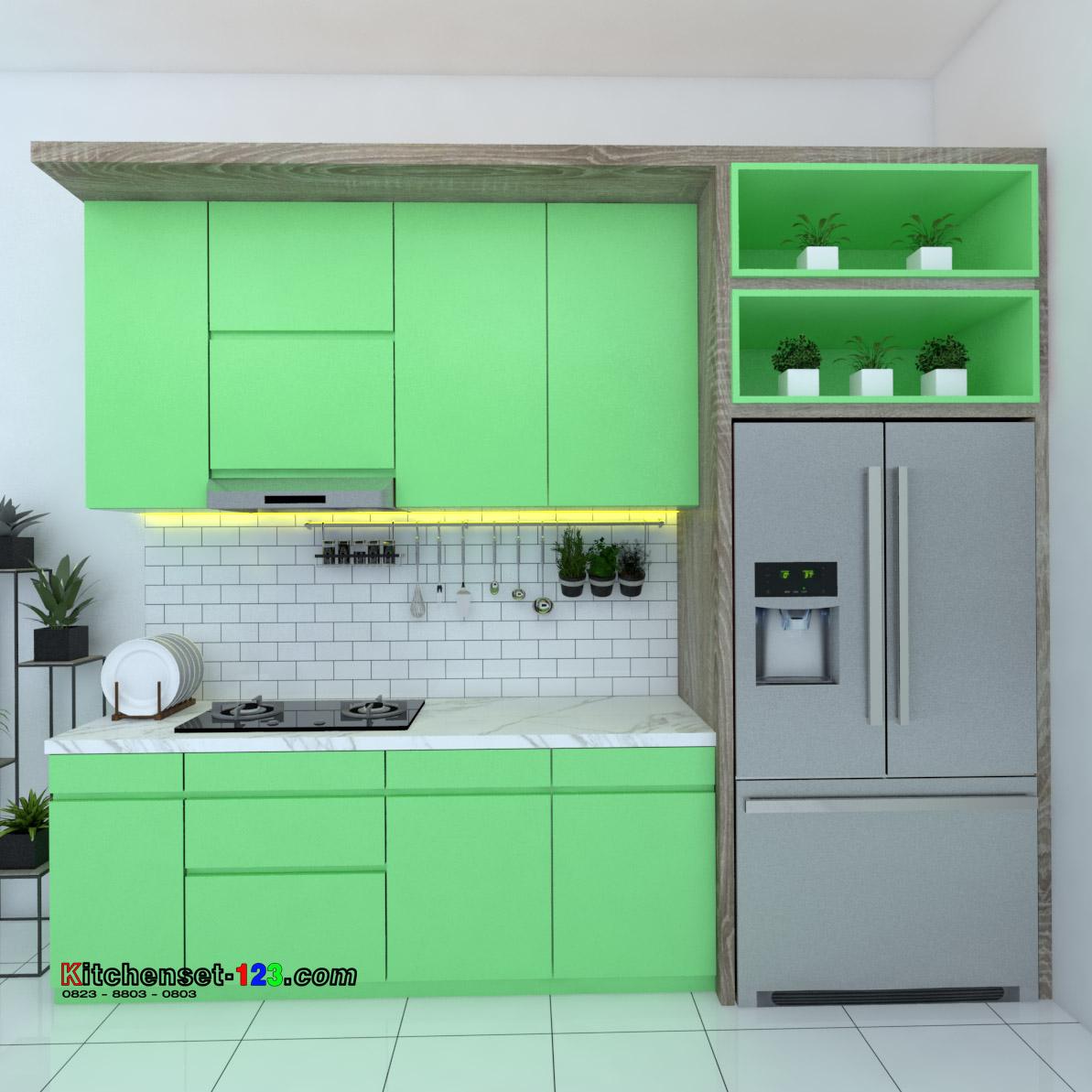 Kitchen set Bantar Gebang Bekasi