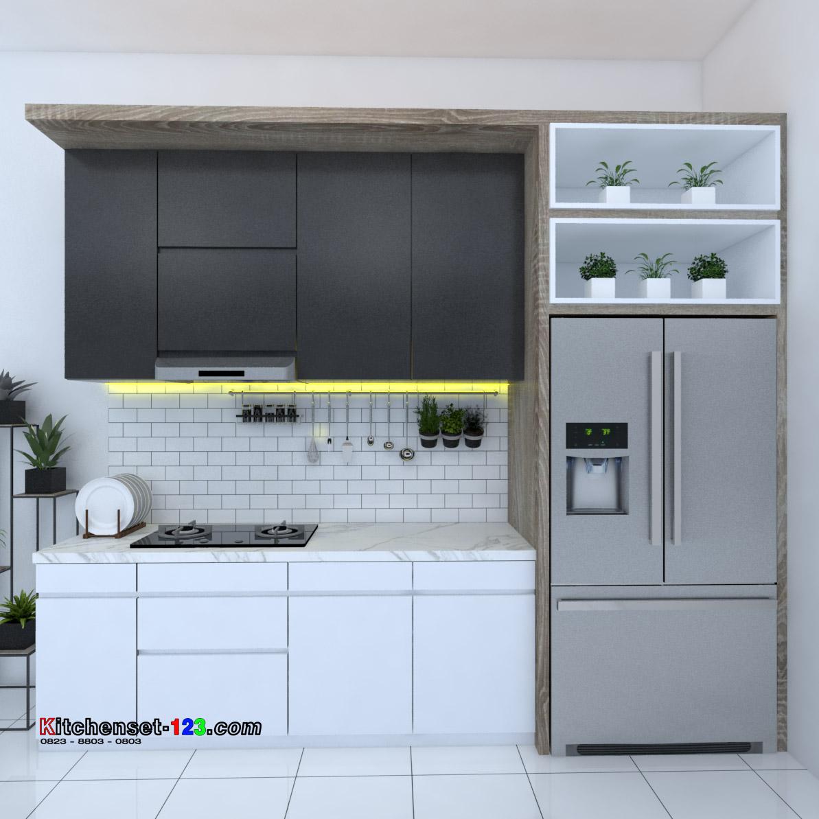 Kitchen set Kayuringin Jaya Bekasi