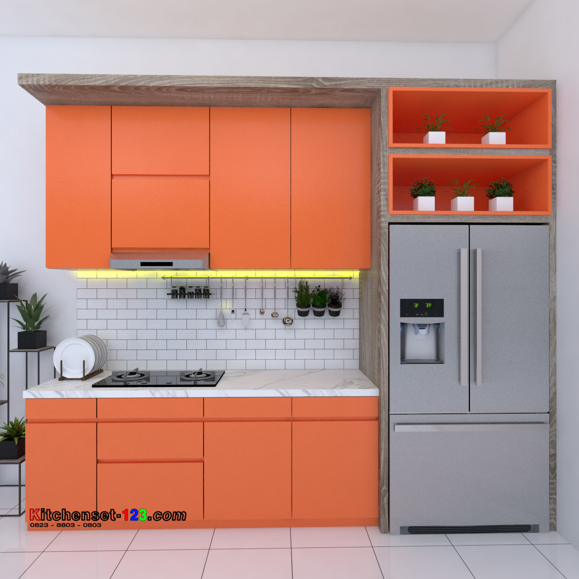 Kitchen set Rawa Lumbu Bekasi